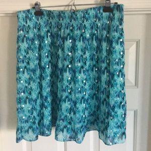 White House Black Market Skirts - Multi colored skirt